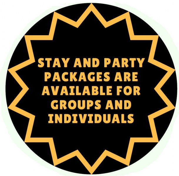 stay and party packages